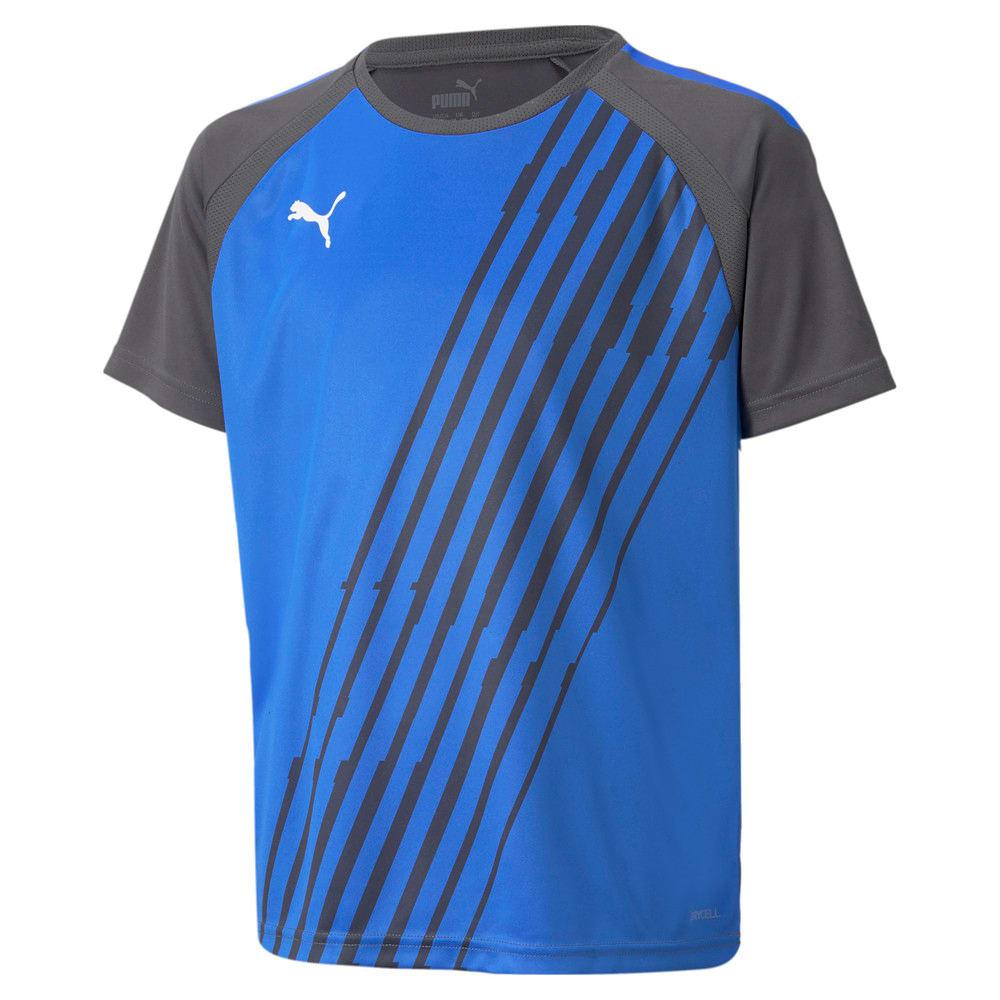 Изображение Puma Детская футболка teamLIGA Graphic Youth Football Jersey #1