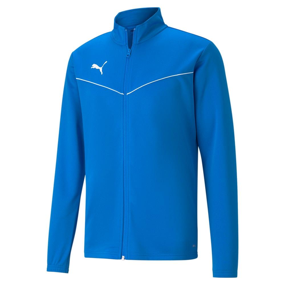 Image Puma teamRISE Polyester Training Men's Football Jacket #1