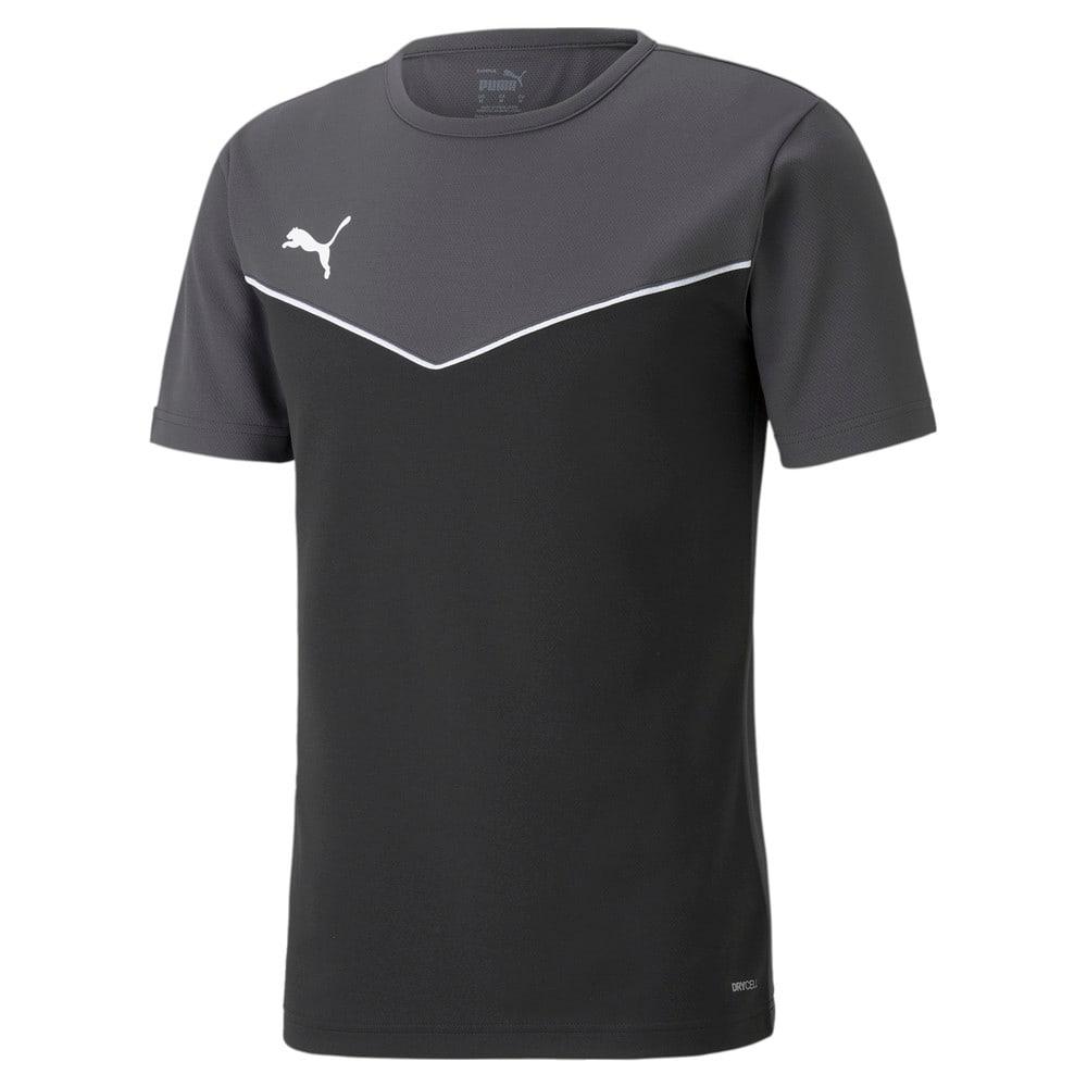 Зображення Puma Футболка individualRISE Men's Jersey #1: Puma Black-Asphalt