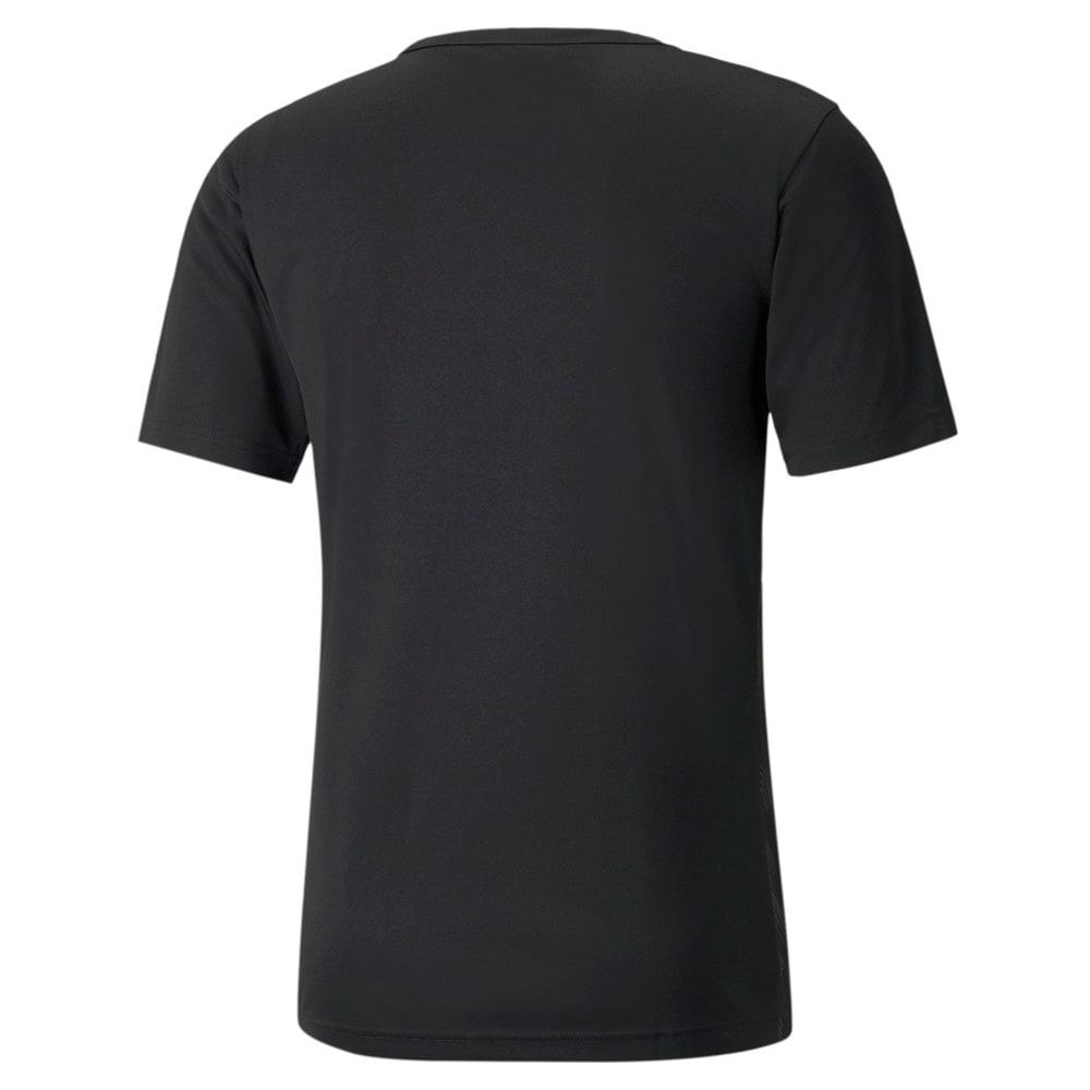 Изображение Puma Футболка individualRISE Graphic Men's Football Tee #2: Puma Black-Asphalt