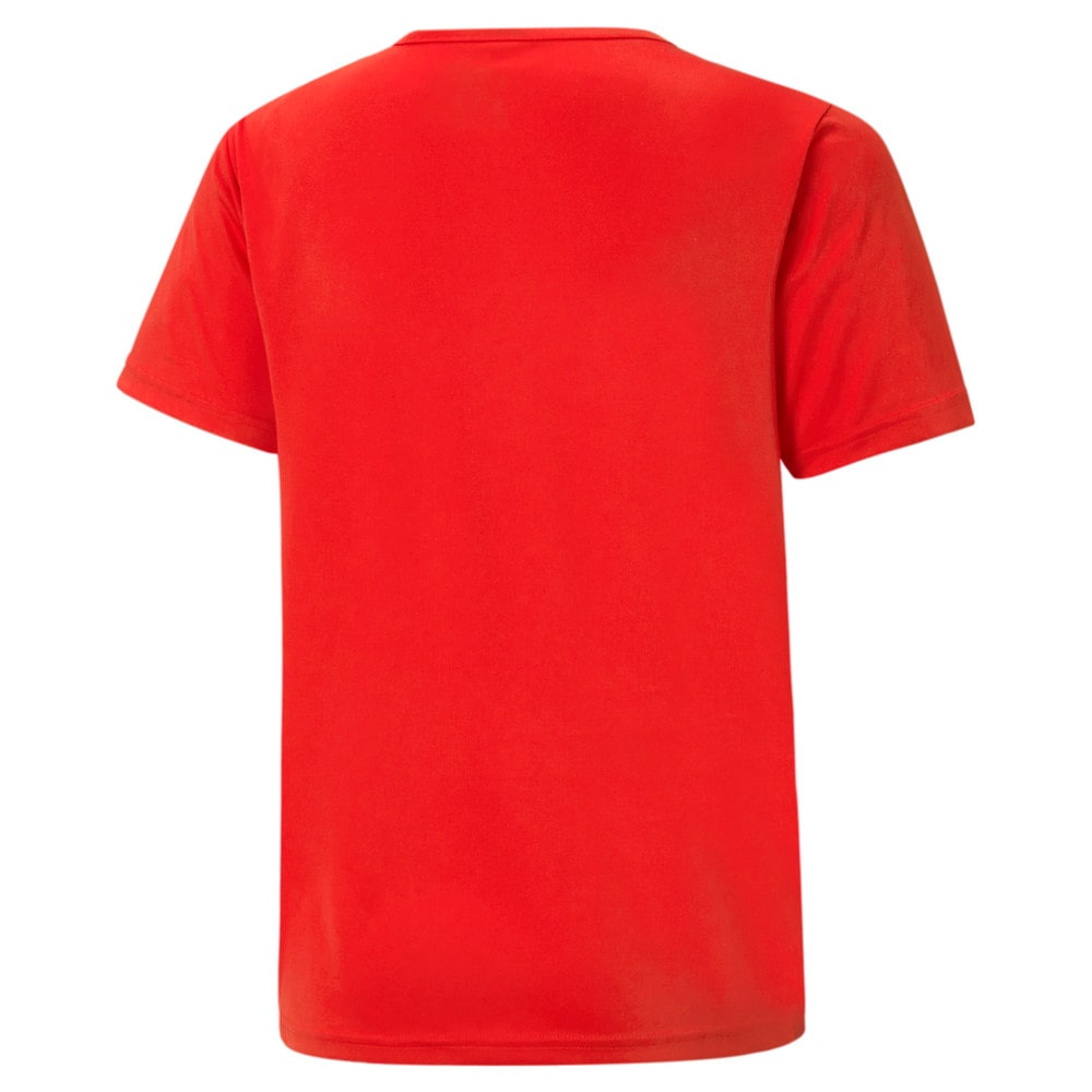 Изображение Puma Детская футболка individualRISE Graphic Youth Football Tee #2
