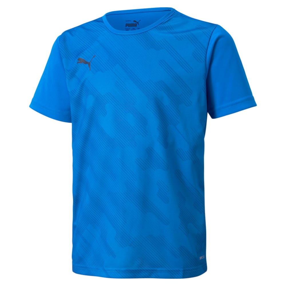 Изображение Puma Детская футболка individualRISE Graphic Youth Football Tee #1