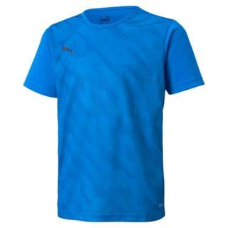Изображение Puma Детская футболка individualRISE Graphic Youth Football Tee