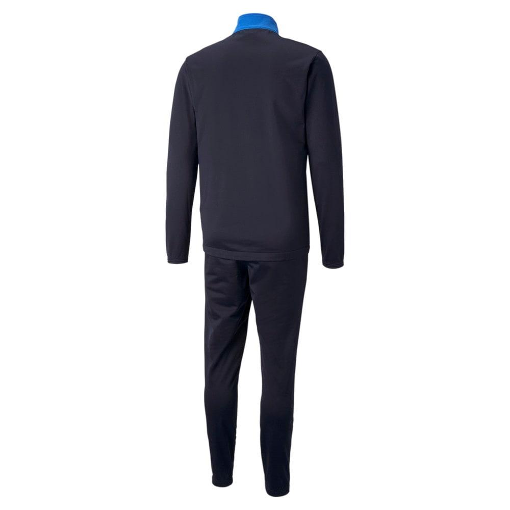 Изображение Puma Спортивный костюм individualRISE Men's Football Tracksuit #2: Electric Blue Lemonade-Peacoat