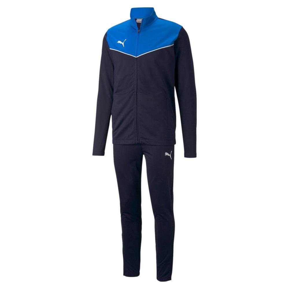 Изображение Puma Спортивный костюм individualRISE Men's Football Tracksuit #1: Electric Blue Lemonade-Peacoat