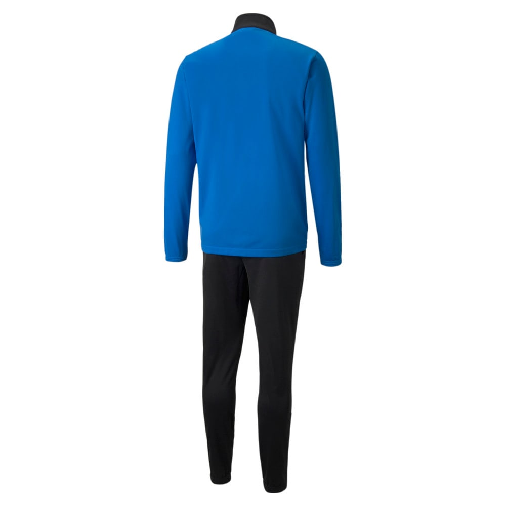 Изображение Puma Спортивный костюм individualRISE Men's Football Tracksuit #2: Electric Blue Lemonade-Puma Black