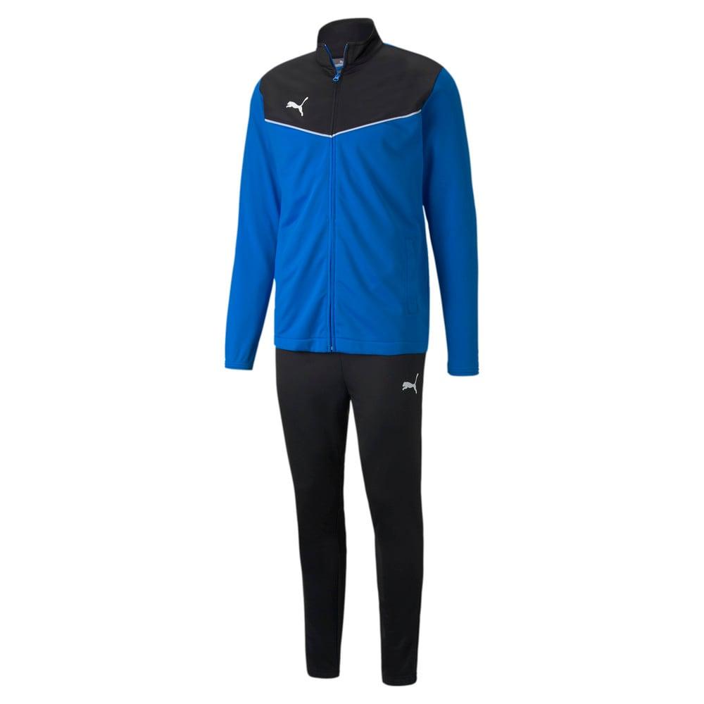 Изображение Puma Спортивный костюм individualRISE Men's Football Tracksuit #1: Electric Blue Lemonade-Puma Black