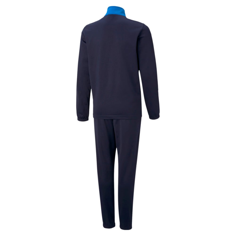 Зображення Puma Дитячий спортивний костюм individualRISE Youth Football Tracksuit #2: Electric Blue Lemonade-Peacoat