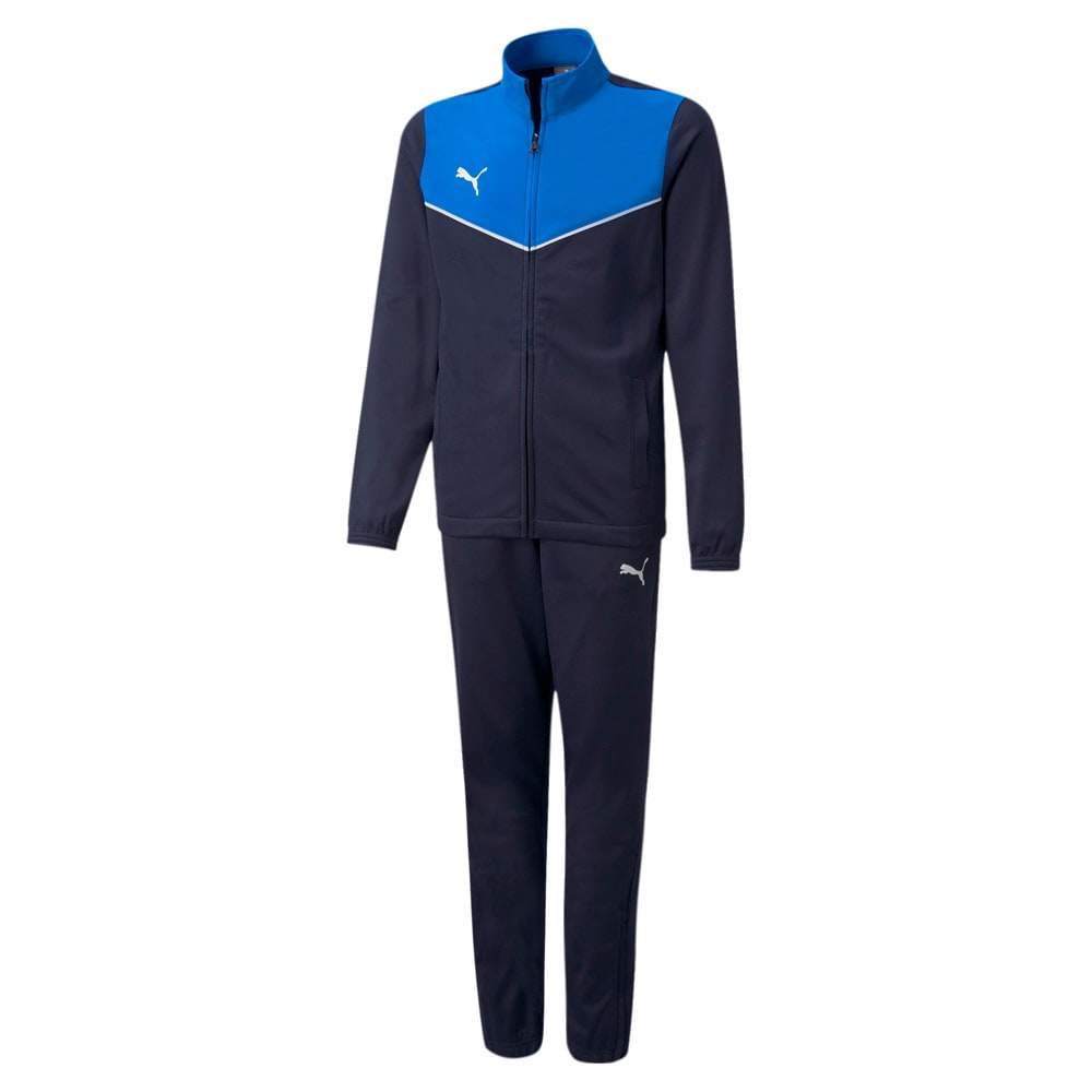 Зображення Puma Дитячий спортивний костюм individualRISE Youth Football Tracksuit #1: Electric Blue Lemonade-Peacoat