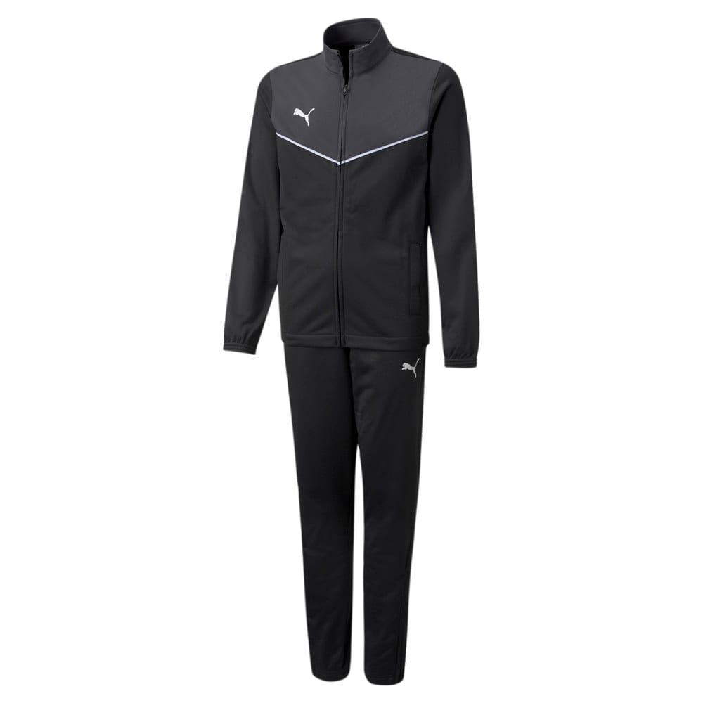 Зображення Puma Дитячий спортивний костюм individualRISE Youth Football Tracksuit #1: Puma Black-Asphalt