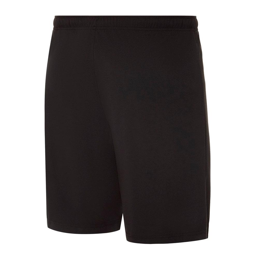 Изображение Puma Шорты individualRISE Men's Football Shorts #2: Puma Black-Sunblaze