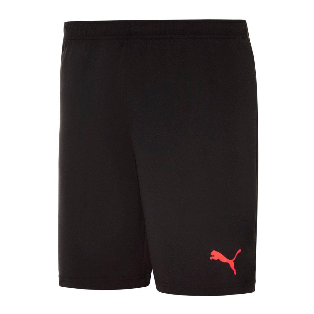 Изображение Puma Шорты individualRISE Men's Football Shorts #1: Puma Black-Sunblaze