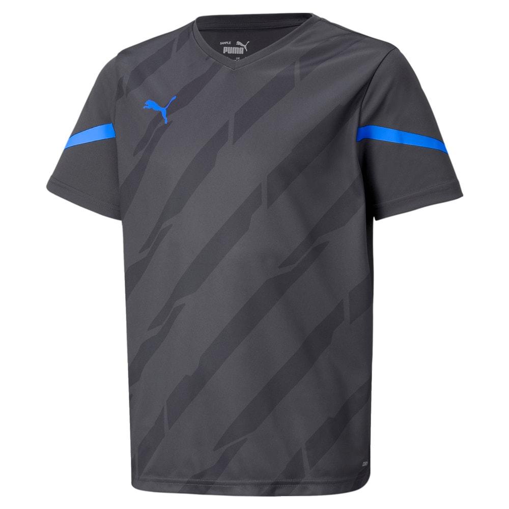 Зображення Puma Дитяча футболка individualCUP Youth Jersey #1: Bluemazing-Asphalt