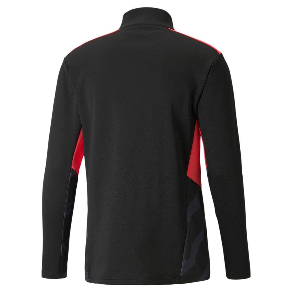 Зображення Puma Олімпійка individualCUP Training Quarter-Zip Men's Football Top #2: Puma Black-Sunblaze
