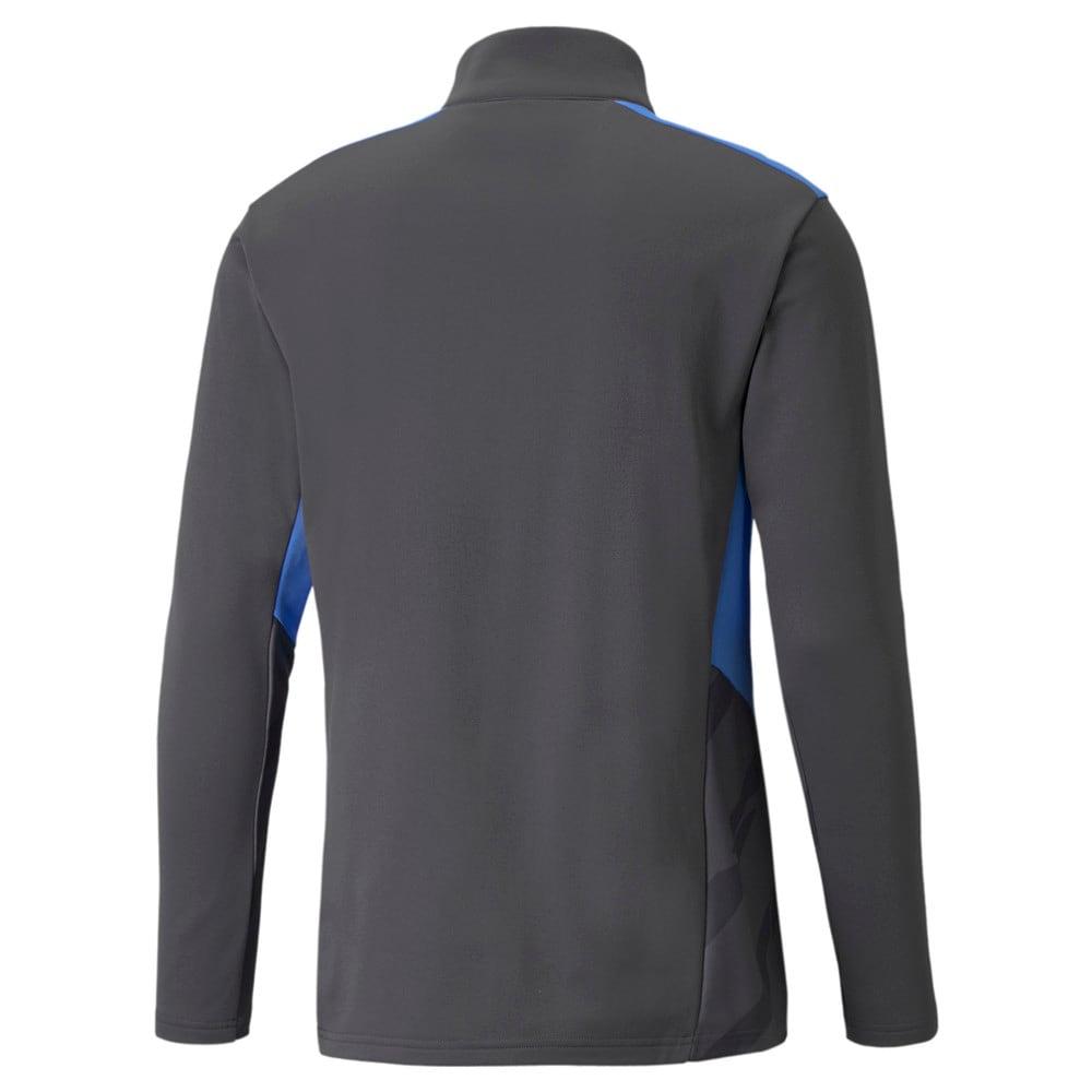 Imagen PUMA Camiseta de fútbol con cierre corto para hombre individualCUP Training #2