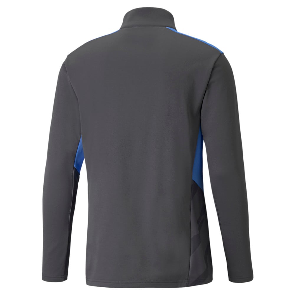 Зображення Puma Олімпійка individualCUP Training Quarter-Zip Men's Football Top #2: Asphalt-Bluemazing