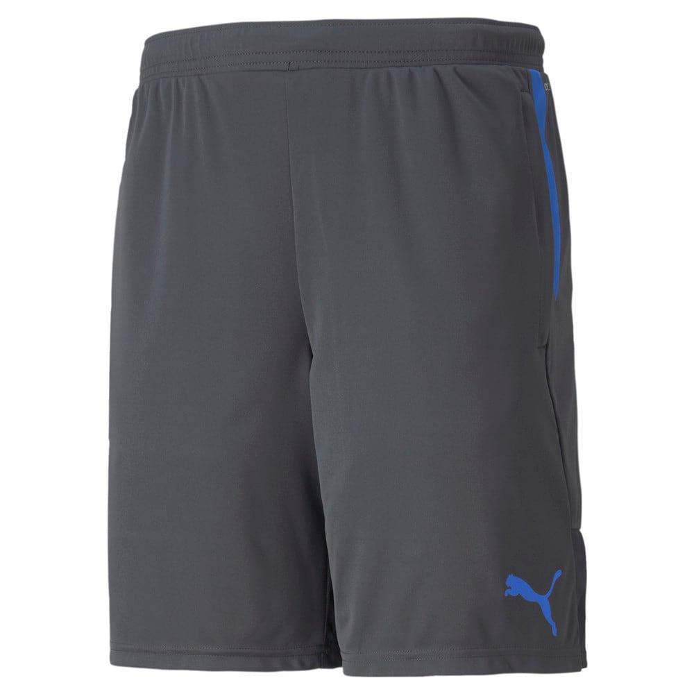 Изображение Puma Шорты individualCUP Men's Football Shorts #1: Asphalt-Bluemazing