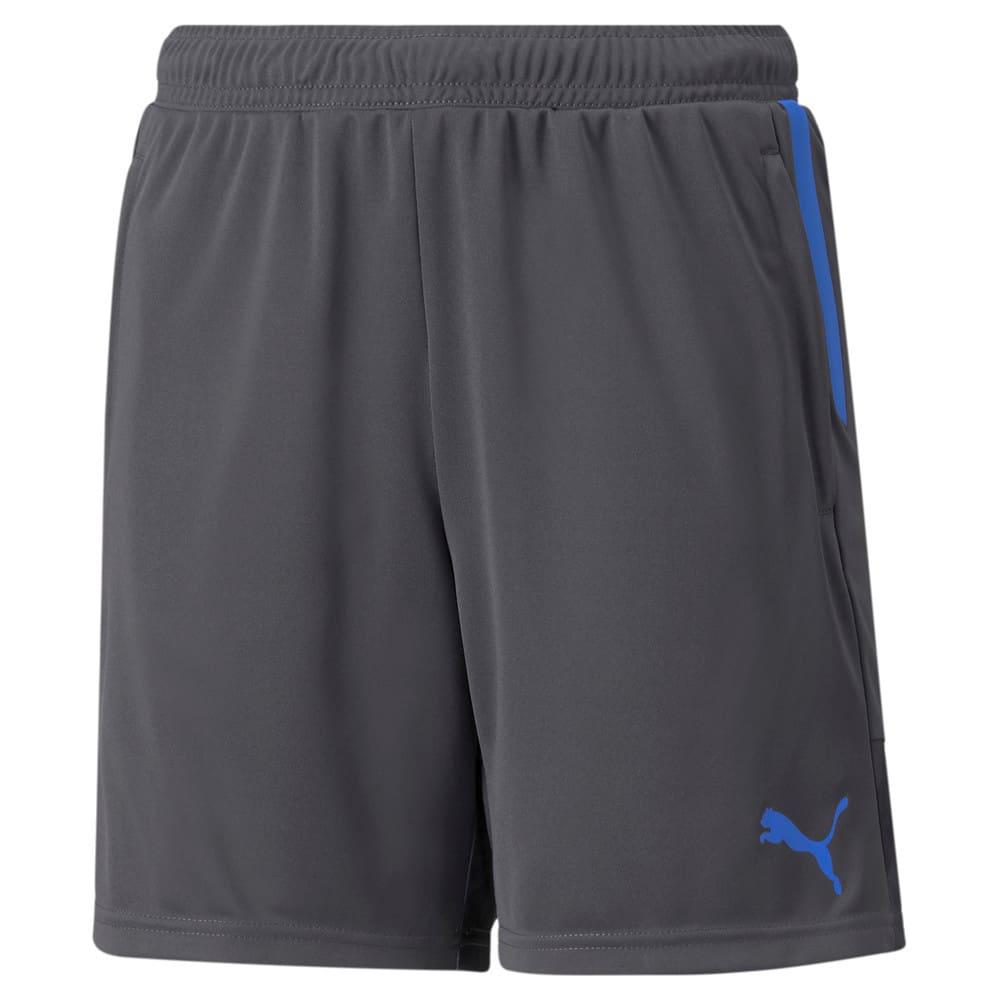 Зображення Puma Дитячі шорти individualCUP Youth Football Shorts #1: Asphalt-Bluemazing