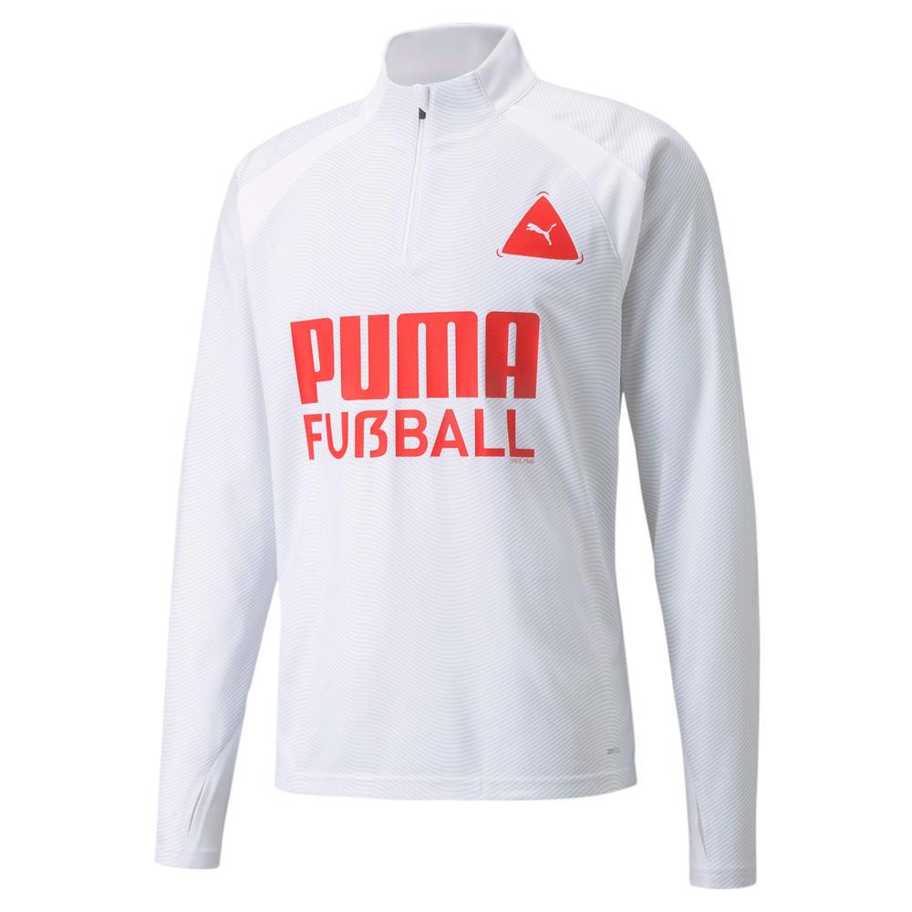 Изображение Puma Олимпийка FUßBALL Park Men's Football Training Top #1