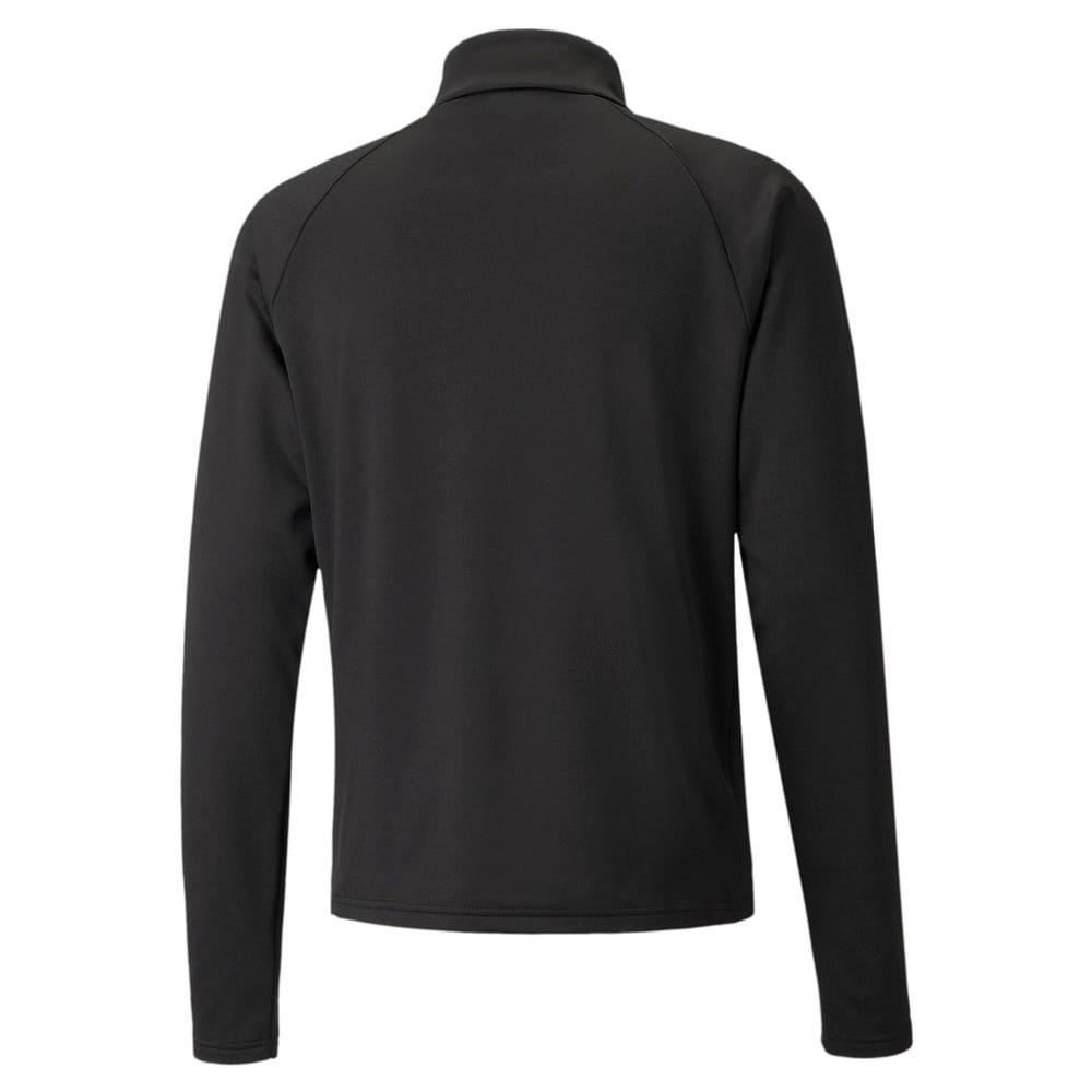 Зображення Puma Олімпійка individualLIGA Warm Quarter-Zip Men's Football Top #2: Puma Black