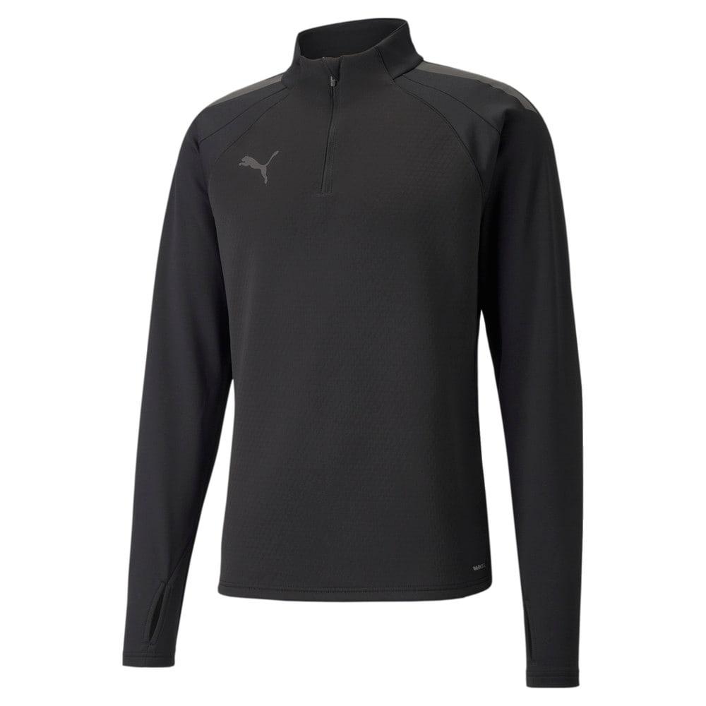 Зображення Puma Олімпійка individualLIGA Warm Quarter-Zip Men's Football Top #1: Puma Black
