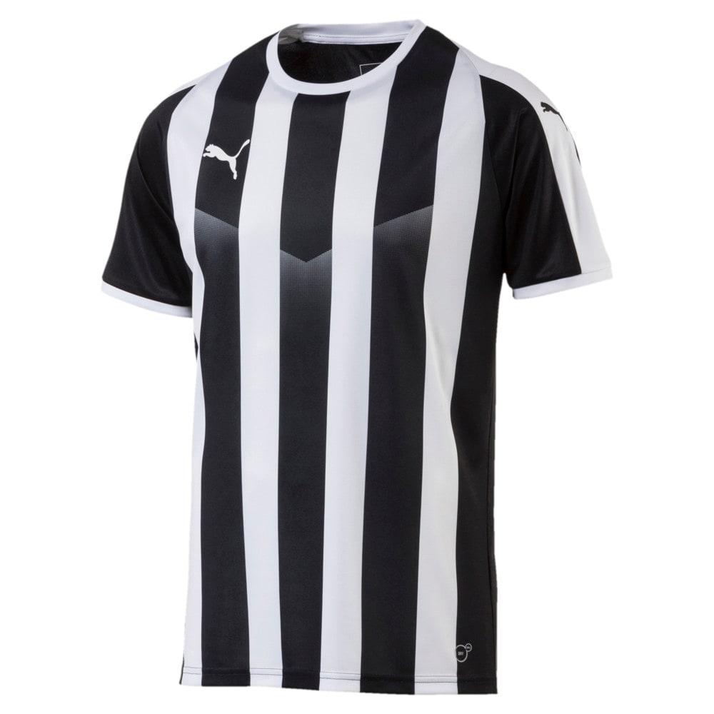 Imagen PUMA Camiseta de fútbol rayada para hombre Liga #1