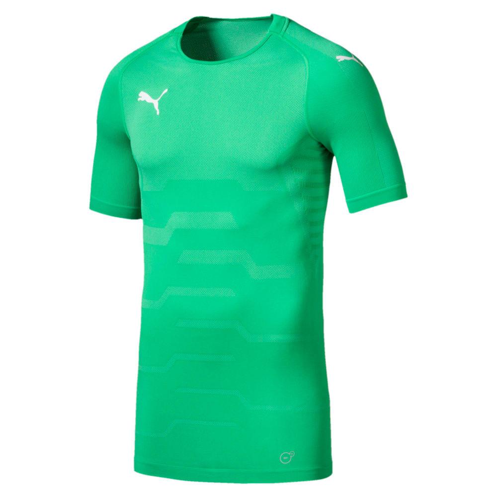 Изображение Puma Футболка FINAL evoKNIT Men's Goalkeeper Football Jersey #1: Bright Green-Puma White