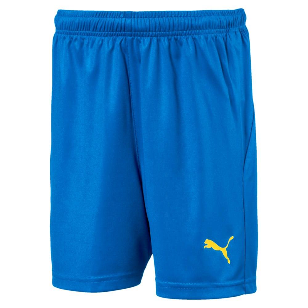 Изображение Puma Шорты LIGA Kids' Football Shorts #1: Electric Blue Lemonade-Yello