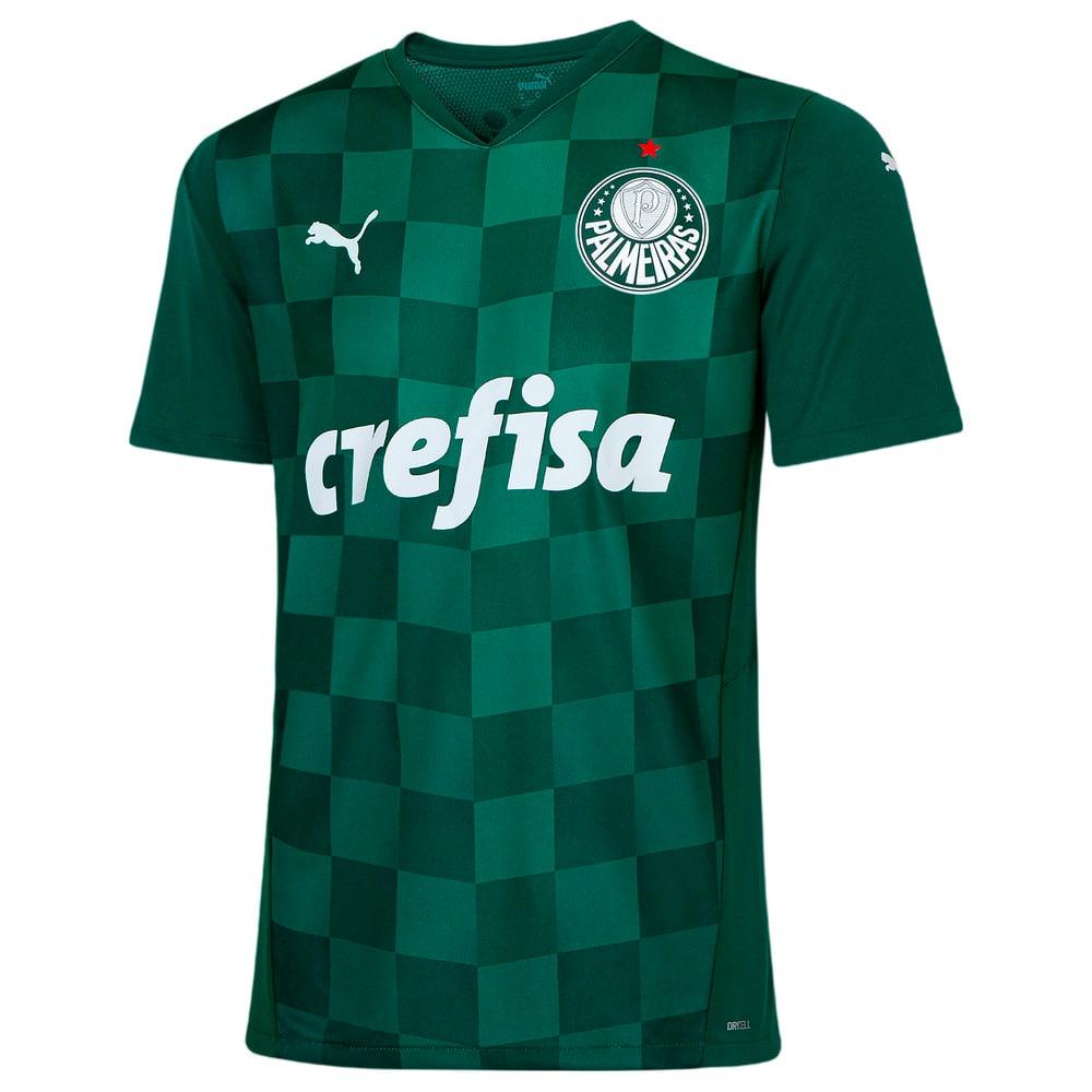 Image PUMA Camisa Palmeiras I 2021 Masculina #1