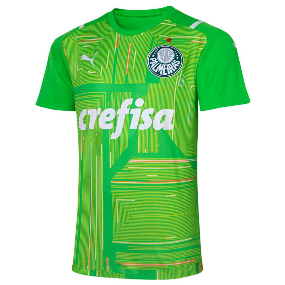 Image PUMA Camisa Palmeiras Goleiro II 2021 Masculina #1