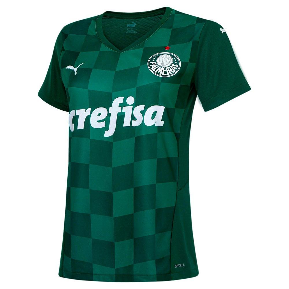 Image PUMA Camisa Palmeiras I 2021 Feminina #1
