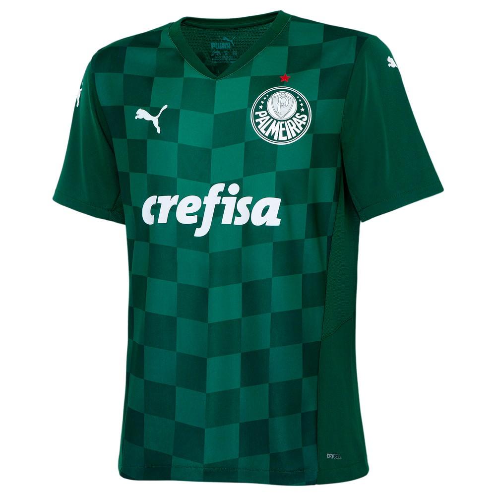 Image PUMA Camisa Palmeiras I 2021 Kids #1