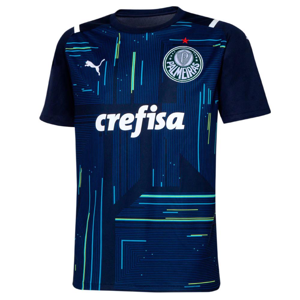Image PUMA Camisa Palmeiras Goleiro I 2021 Kids #1