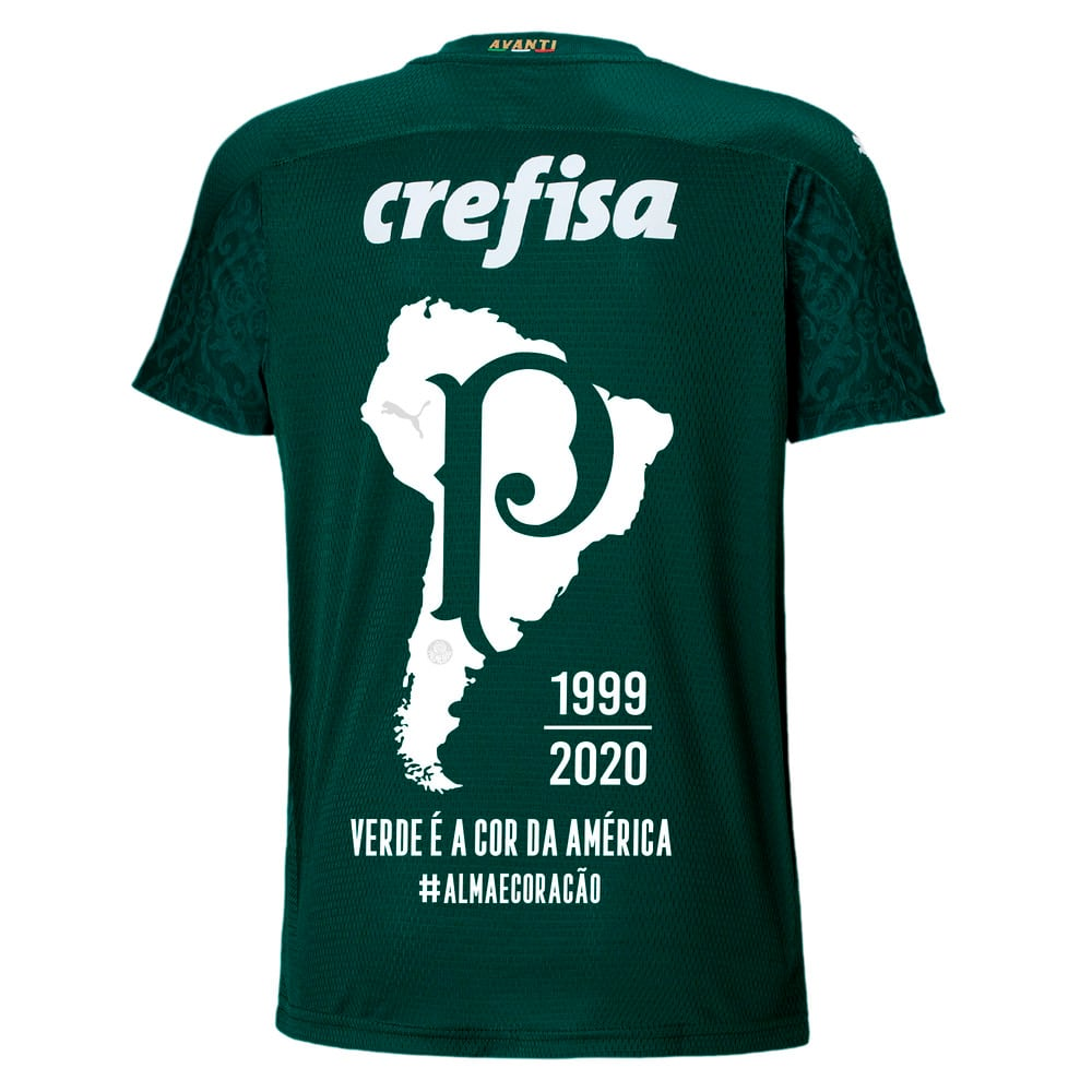 Image PUMA Camisa Palmeiras I 2020/21 Comemorativa Kids #2
