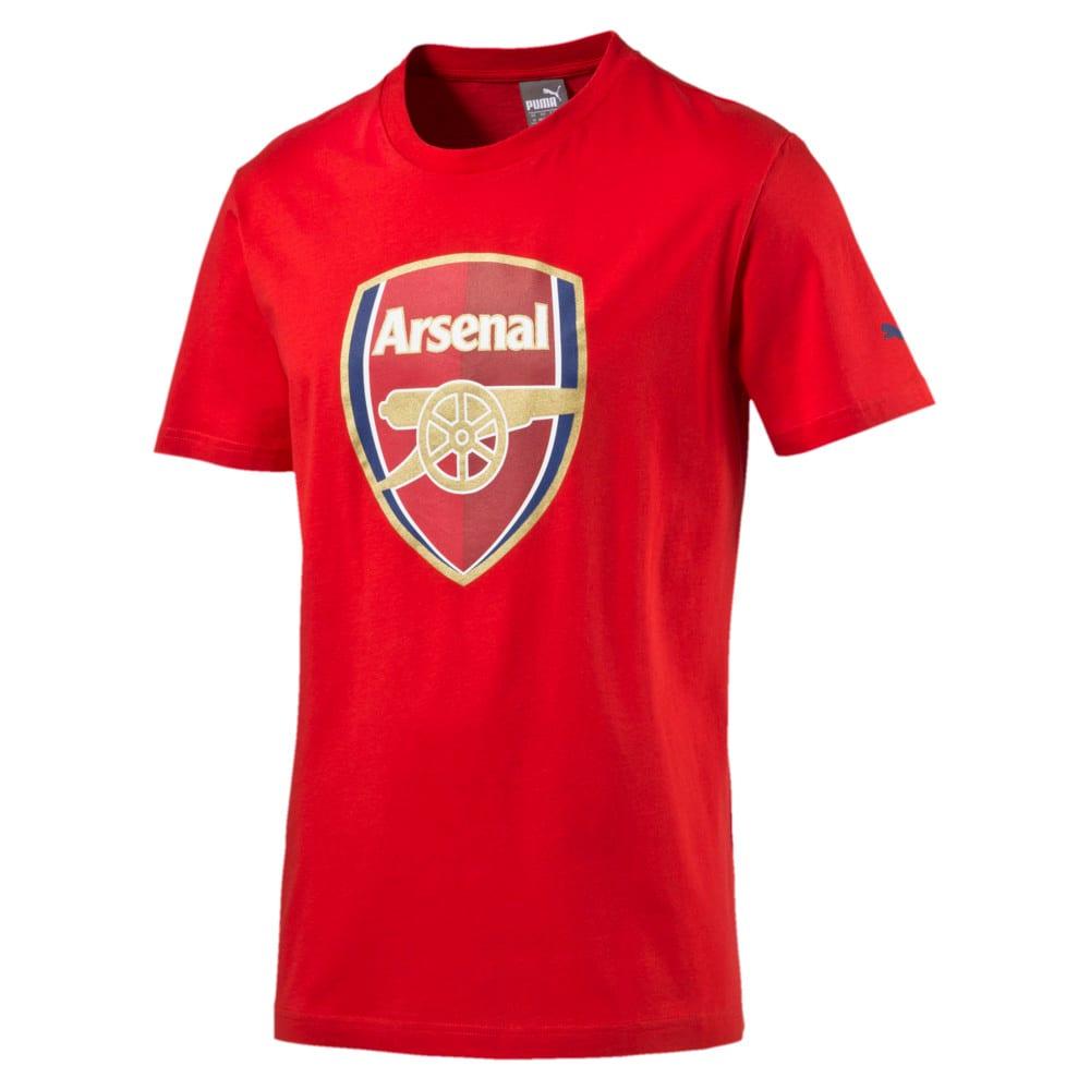 Görüntü Puma Arsenal Armalı Erkek T-Shirt #1