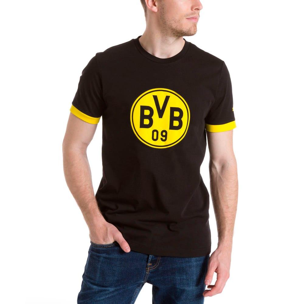 Görüntü Puma BVB Armalı Erkek T-Shirt #2
