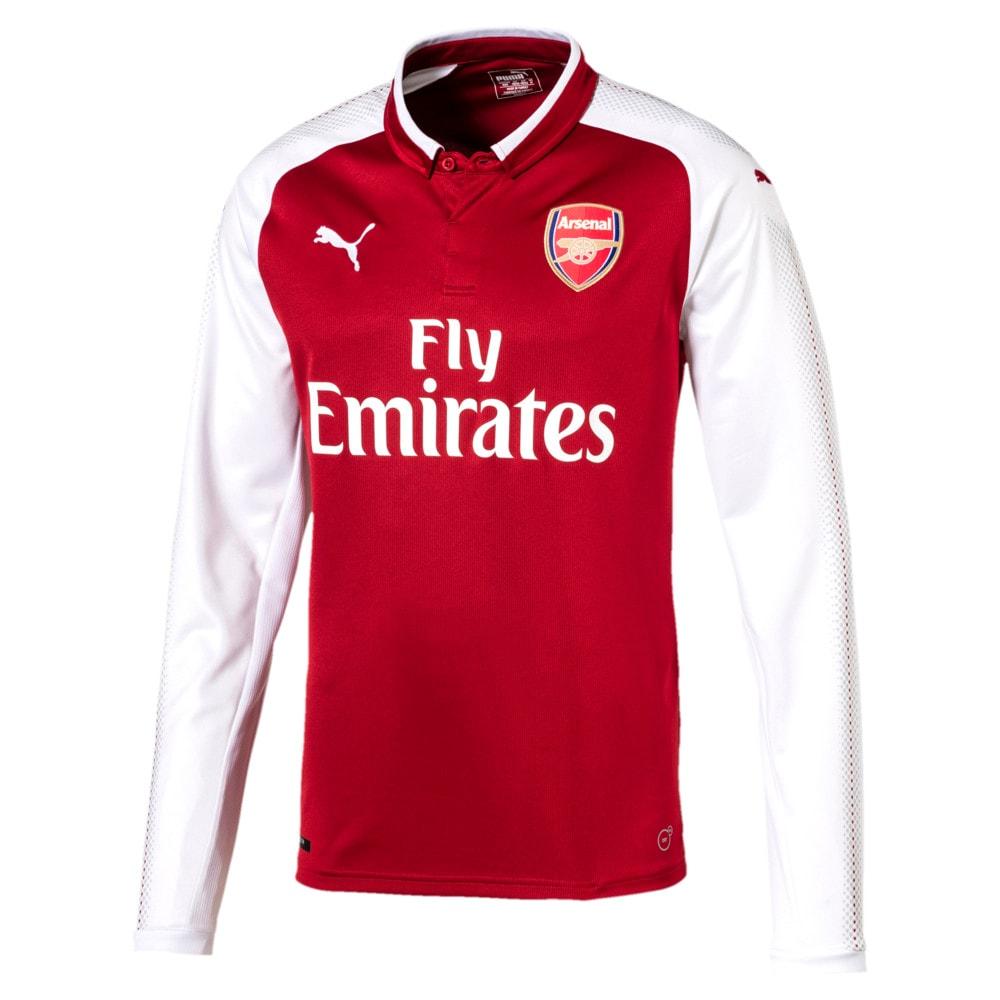 Görüntü Puma Arsenal Uzun Kollu İç Saha Replika Forma #1
