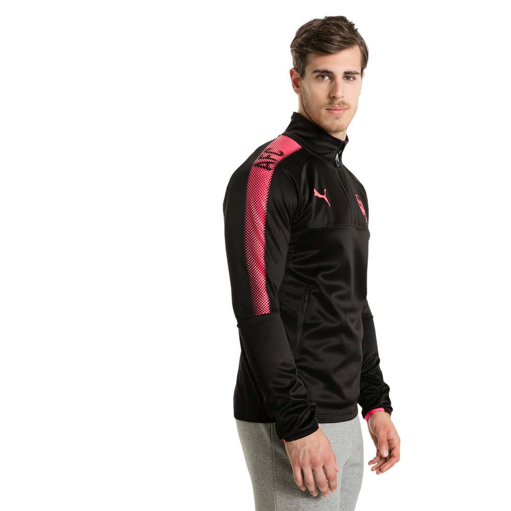 Görüntü Puma Arsenal 1/4 Fermuarlı Antrenman Sweatshirt #2