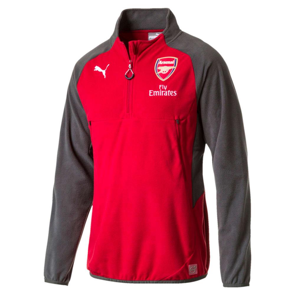 Görüntü Puma Arsenal Sponsorlu Antrenman Sweatshirt #1