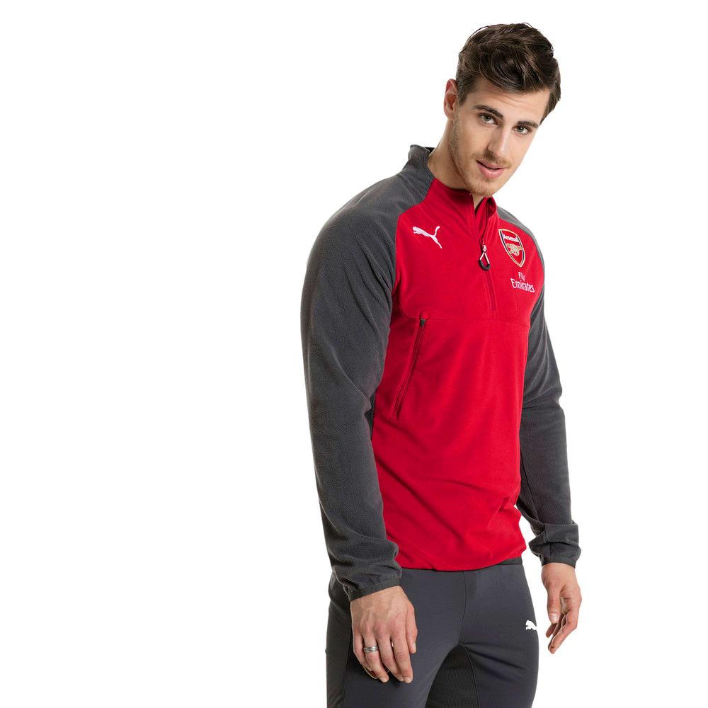 Görüntü Puma Arsenal Sponsorlu Antrenman Sweatshirt #2
