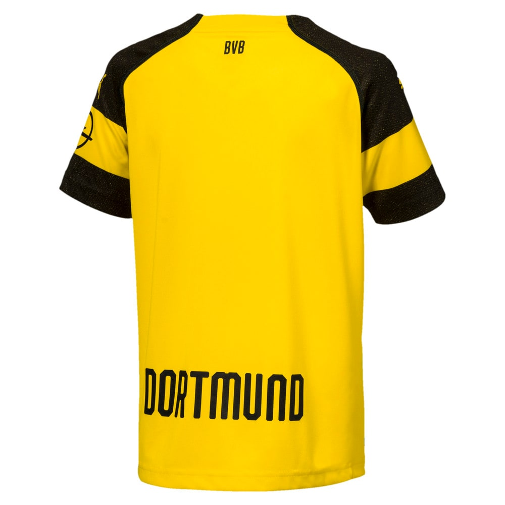 Imagen PUMA Camiseta réplica del uniforme titular del BVB para niños #2