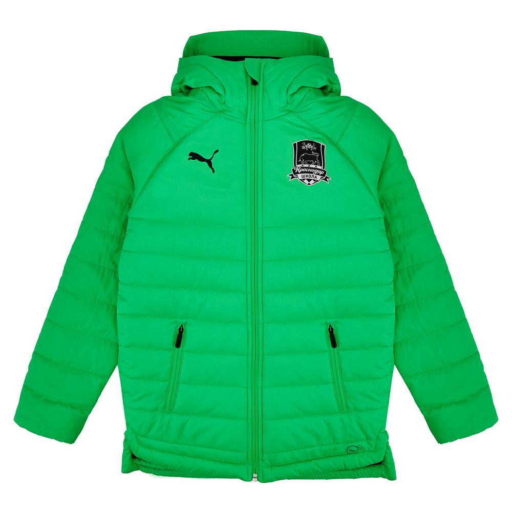 Изображение Puma Детская куртка FC Krasnodar Bench Jacket Jr #1