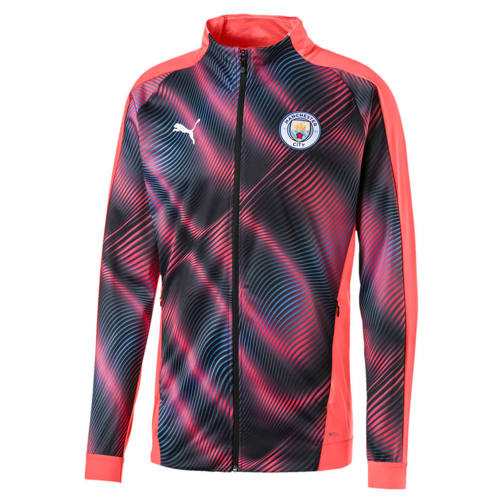 Image Puma Man City Stadium League Men's Jacket #1