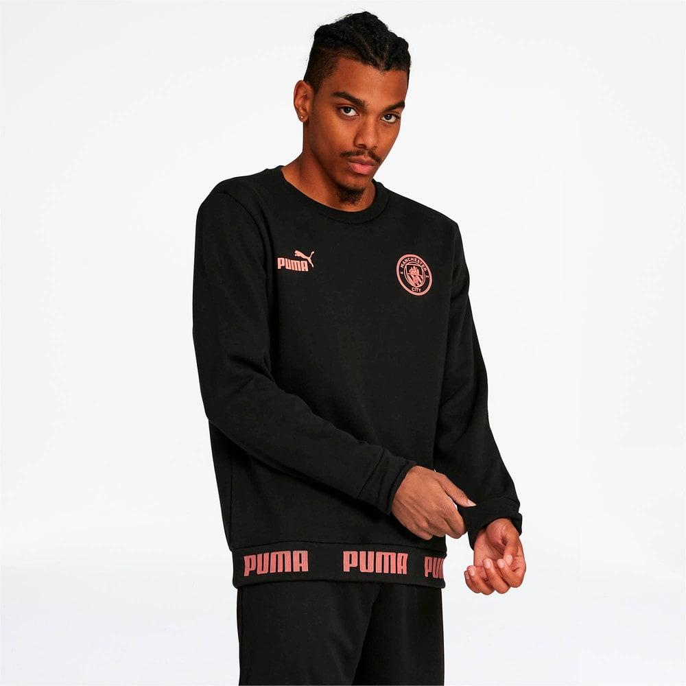 Зображення Puma Толстовка MCFC FtblCulture Sweater #1: Puma Black-georgia peach