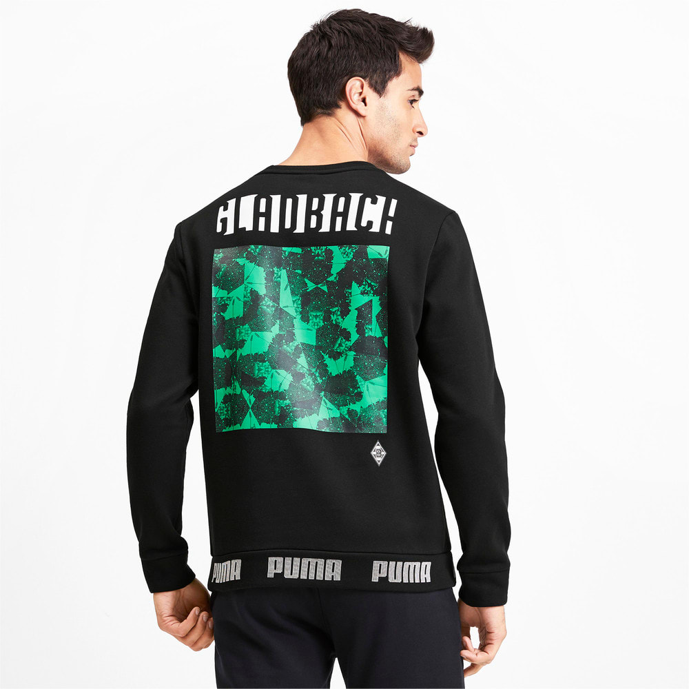Изображение Puma Толстовка Borussia Mönchengladbach Football Culture Men's Sweater #2