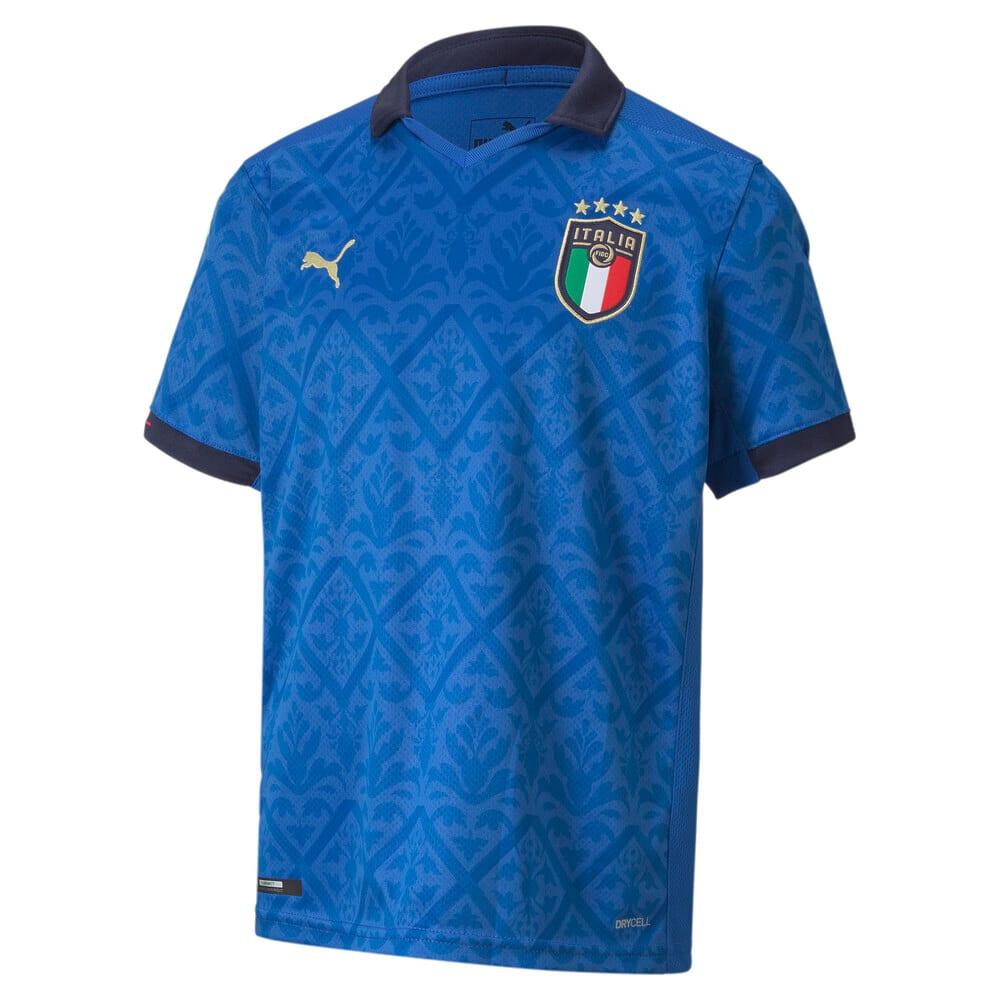 Изображение Puma Детская футболка Italia Kids' Home Replica Jersey #1
