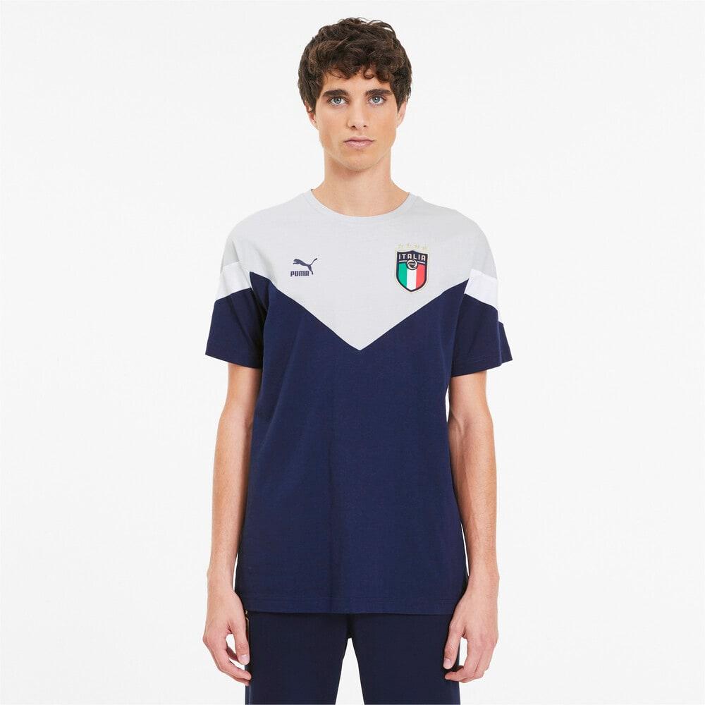 Изображение Puma Футболка FIGC Iconic MCS Tee #1