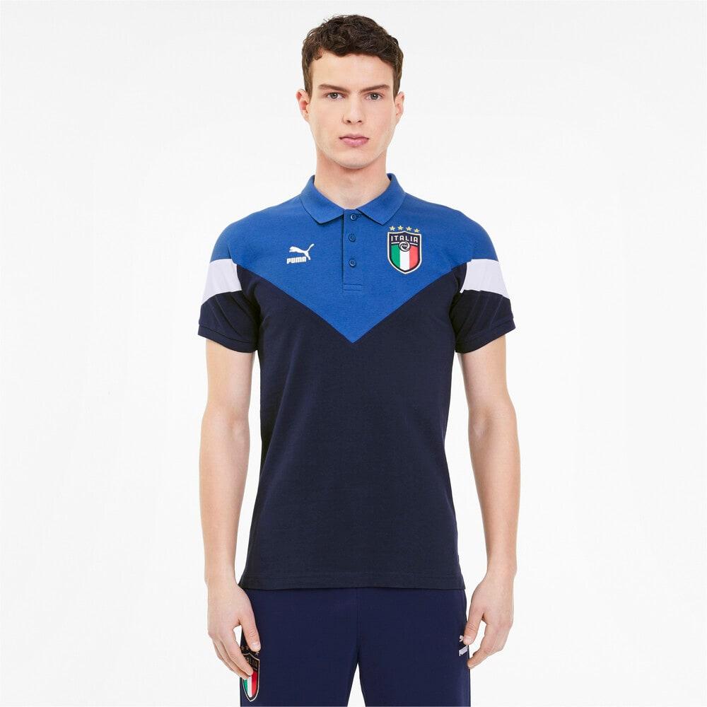 Image PUMA Camisa Polo FIGC Italia Iconic Masculina #1