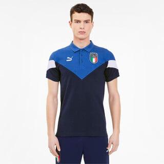 Image PUMA Camisa Polo FIGC Italia Iconic Masculina