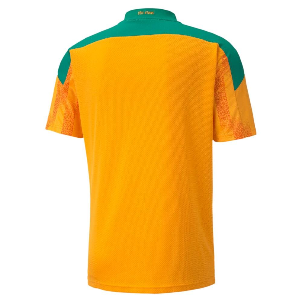 Image Puma Ivory Coast Home Replica Men's Jersey #2
